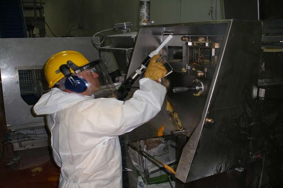 Dry Ice Blasting Project, IN PROGRESS