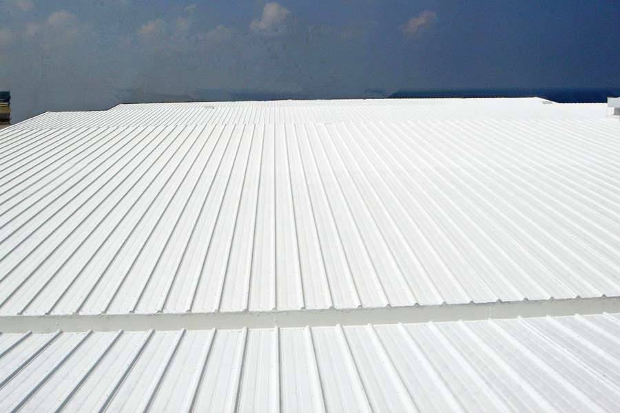 Metal Roof Painting & Refinishing Project
