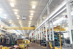 Oshawa, Ontario completed industrial painting project