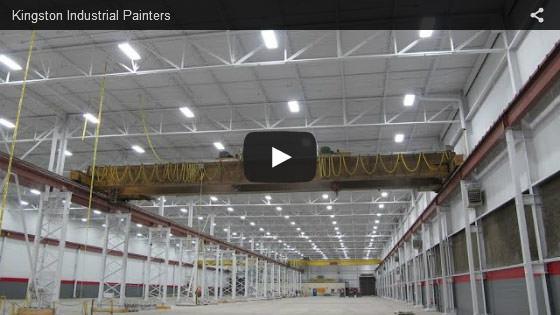 Kingston industrial painters video