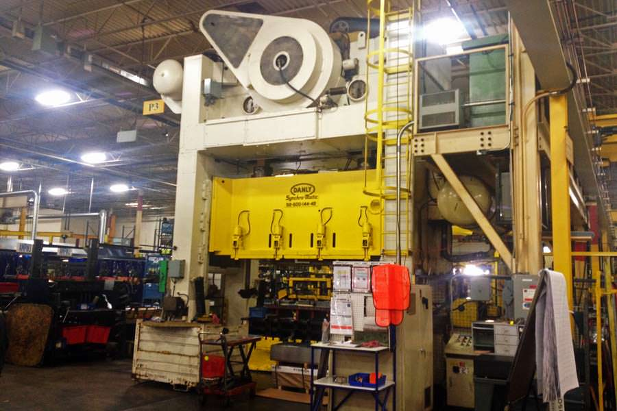 Manufacturing Equipment Painting Project