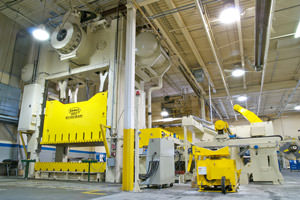 painted stamping plant manufacturing equipment in London