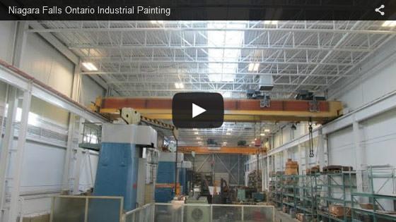 Niagara Falls Ontario industrial painting video