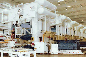 Burlington industrial painting of stamping plant equipment