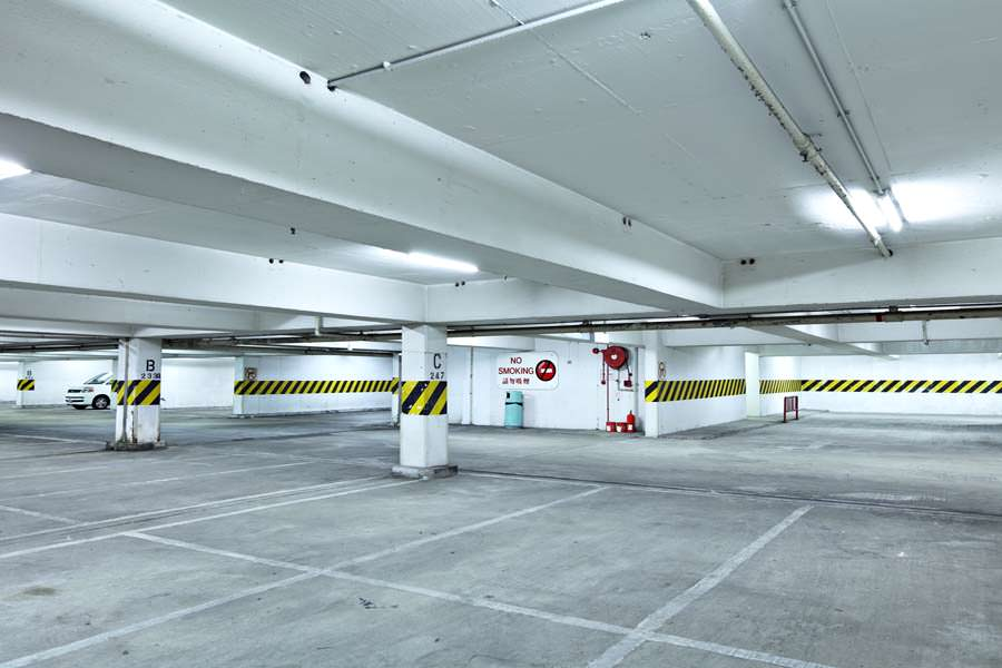Parking Garage Painting Project