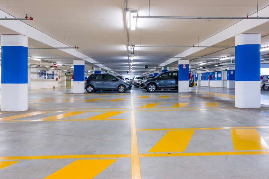 Underground Parking Garage Painting Contractor Company