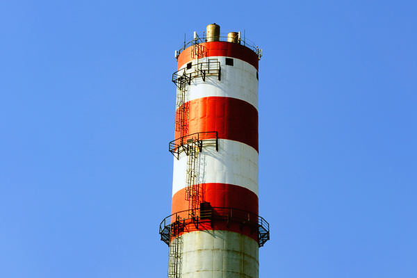 Smoke Stack Painting Project