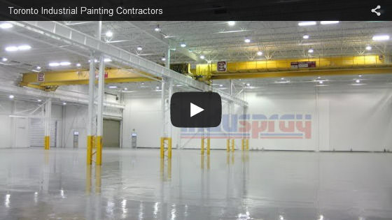 Toronto industrial painting contractors video