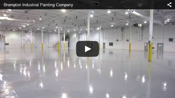 Brampton industrial painting company