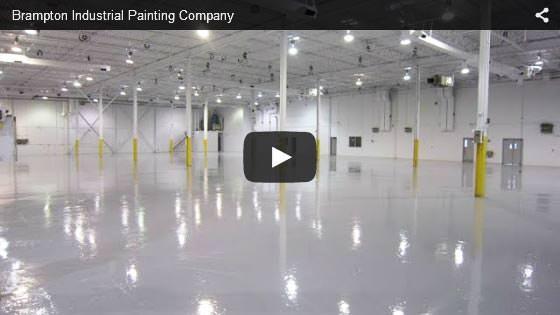 Brampton industrial painting company