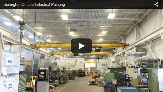Burlington Ontario industrial painting
