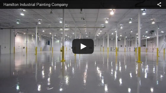 Hamilton industrial painting company video