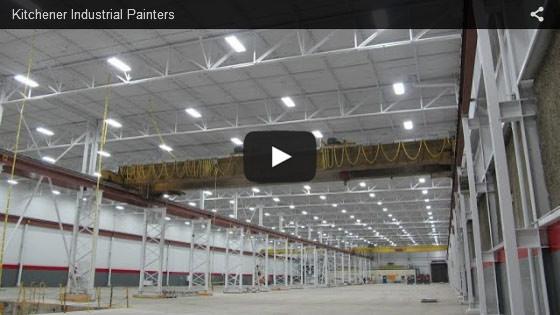Kitchener industrial painters video