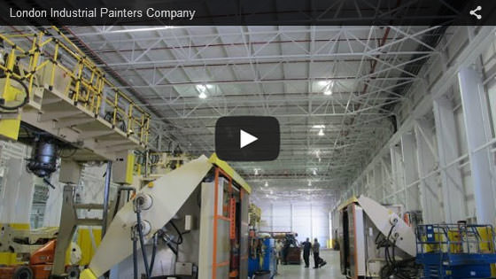 London industrial painters company video