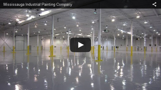 Mississauga industrial painting company video