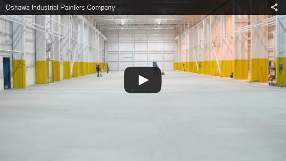 Oshawa industrial painters company video