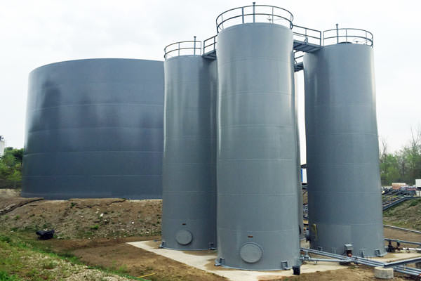 painting silos and tanks