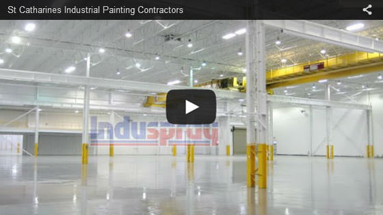 St. Catharines industrial painting contractors video