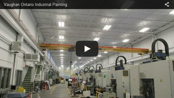 Vaughan Ontario industrial painting video