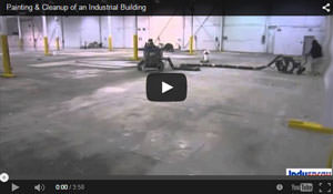 Painting & Cleanup of an Industrial Building