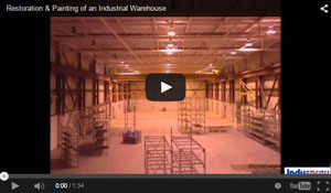 Restoration & Painting of an Industrial Warehouse