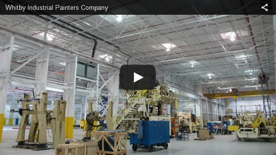Whitby industrial painters company video